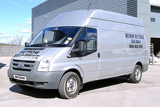LWB Transit Van - High Roof